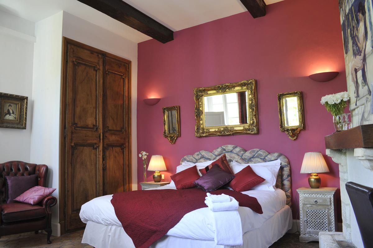 les saisons bed and breakfast villeneuve les avignon autumn room chambre l 39 automne. Black Bedroom Furniture Sets. Home Design Ideas