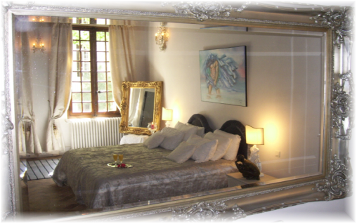 Les Saisons Bed and Breakfast  Villeneuve les Avignon Winter room